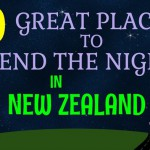 10 Great Places to Spend the Night in New Zealand Title