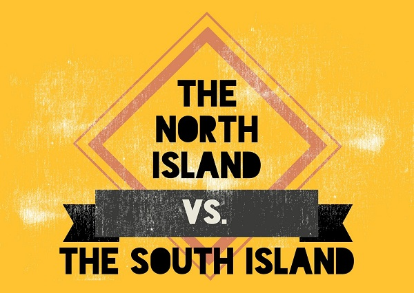 The North Island vs. the South Island Title