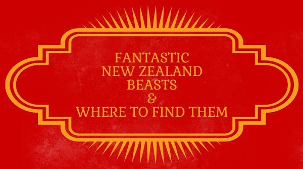 Fantastic New Zealand Beasts and Where to Find Them Title