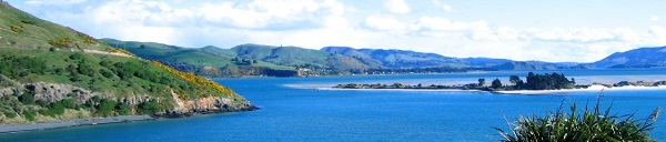 A view from near the end of the Otago Peninsula