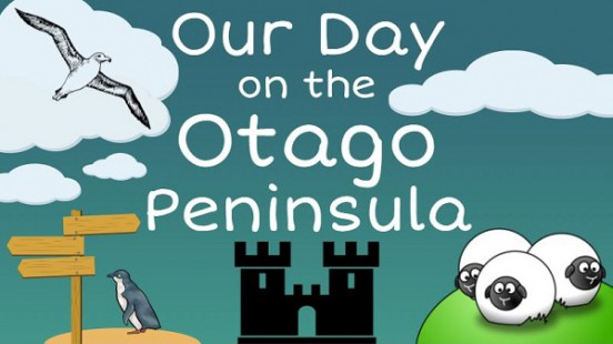 Our Day on the Otago Peninsula Title