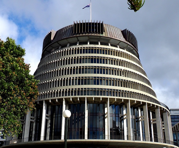 The Beehive New Zealand Parliament Building Wellington