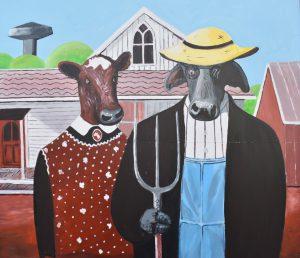 bulls american gothic